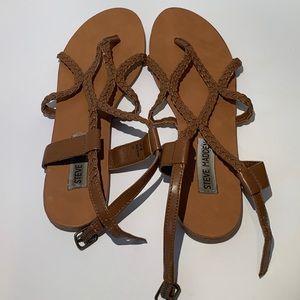 Steve Madden Braided Koy Sandals